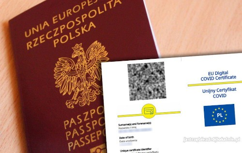 Zaświadczenie Covid 19 Unijny Certyfikat Covid Negatywny test